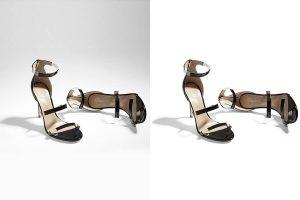 Drop shadow effect for Shoe