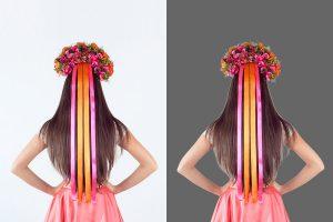 Photoshop Hair Masking Service