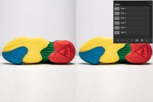 Shoe Multi Clipping Path