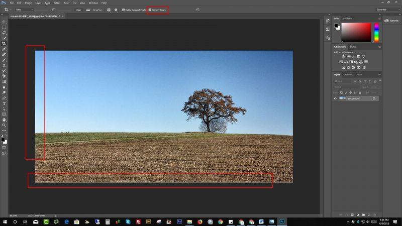 Fixing Pixels Gape