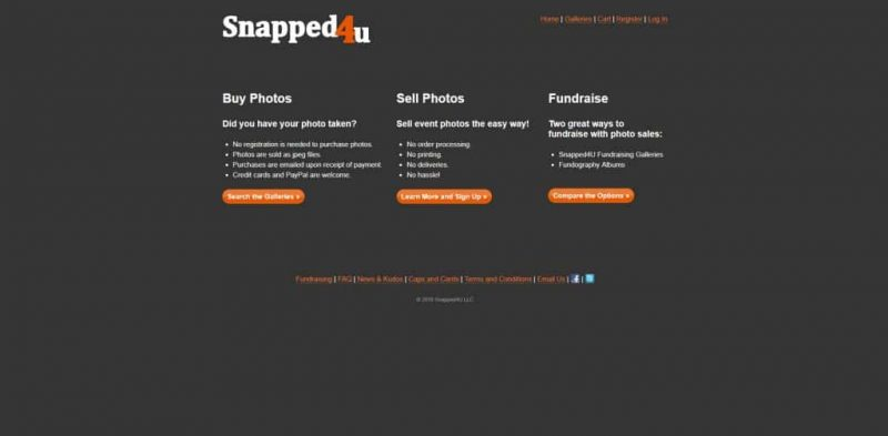 Snapped4U photostock site - sell photographs online