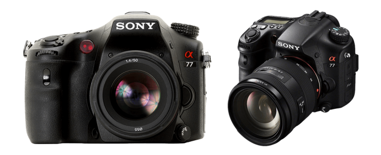 Sony ALPHA SLT-A77 - camera for product photography