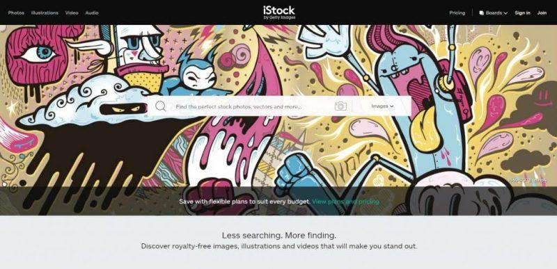 IStock Photography store