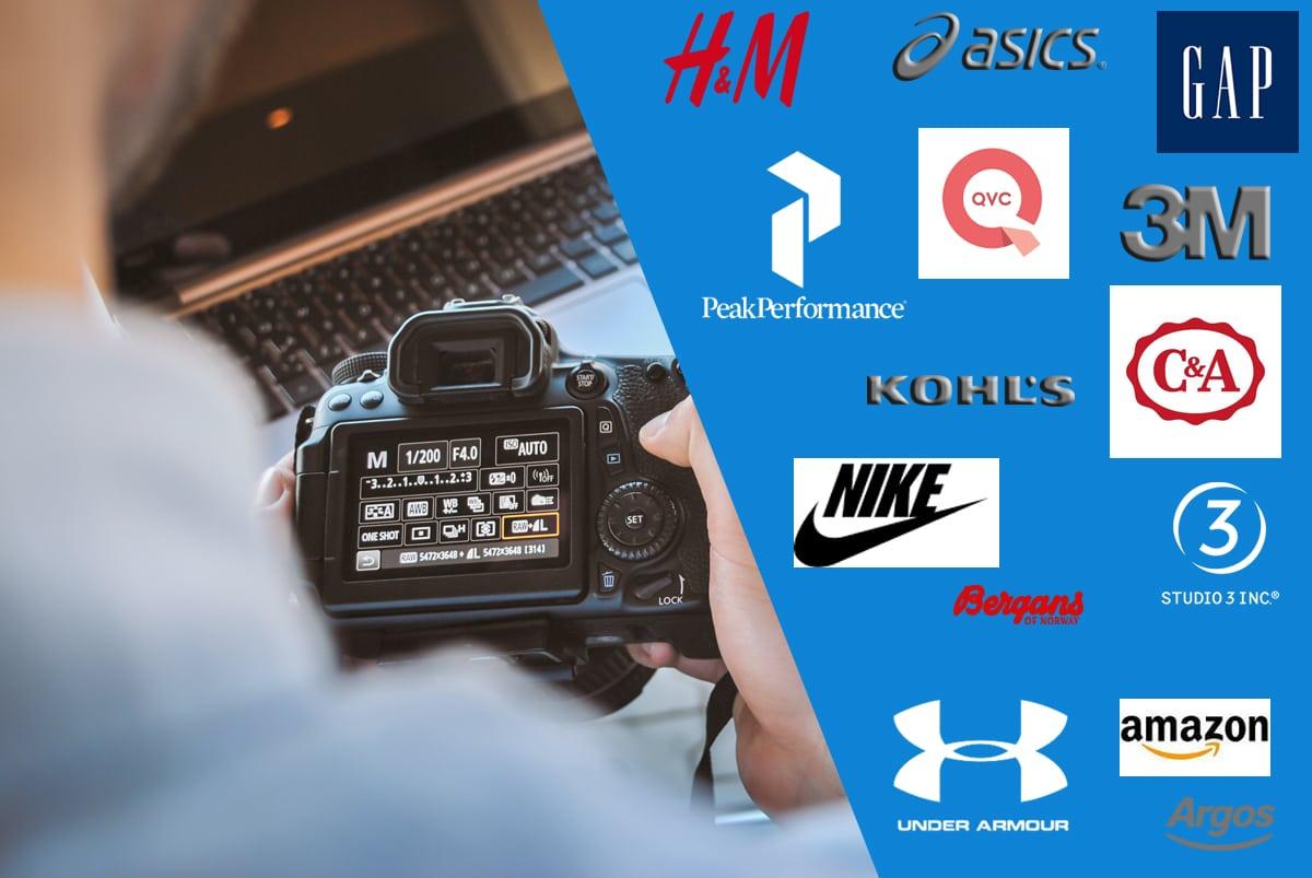 eCommerce photographer