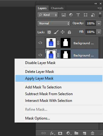 How to add Reflection Shadow in Photoshop