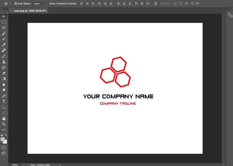 Make a Logo Transparent in Photoshop