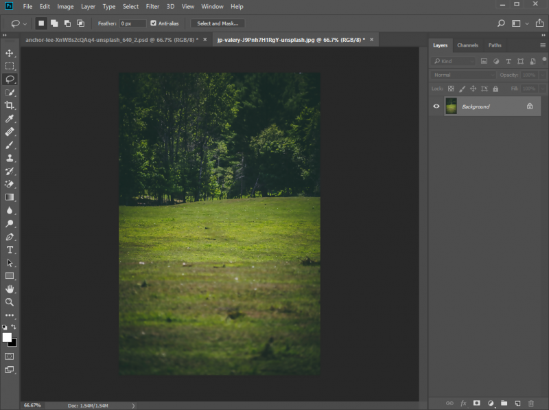 Remove and Change Image Background in Photoshop