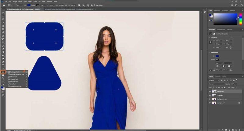 Live-Shapes Enhancement feature in photoshop cc 2021