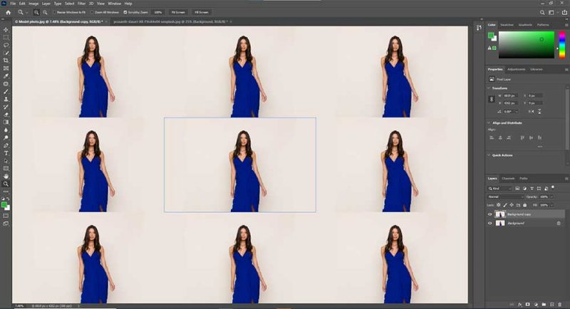 Pattern Preview enabled in Photoshop CC 2021