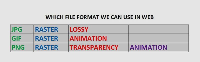 WEB FILE FORMAT