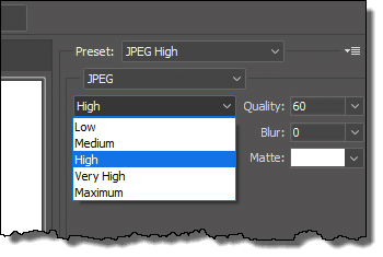 Resize an image in Photoshop
