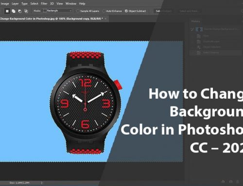 How to Change Background Color in Photoshop CC – 2020