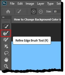 How to Change Background Color in Photoshop - Step - 5 - 3