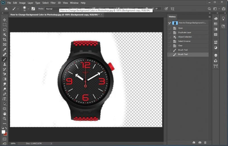 How To Change Background Color In Photoshop Cc 2020
