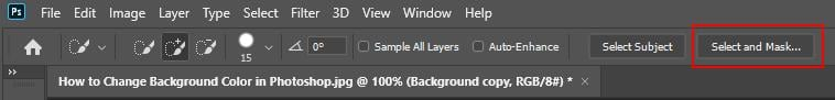 How to Change a Background Color in Photoshop - Step - 3