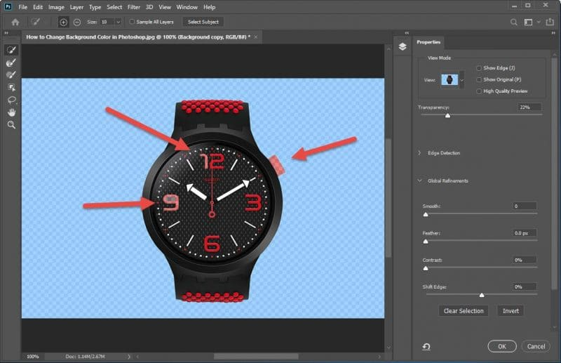 How to Change a Background Color in Photoshop - Step - 4
