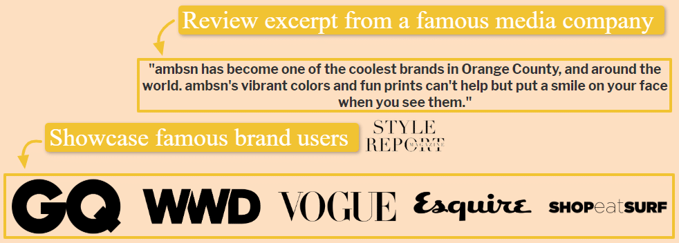review on online sells from a famous media fro