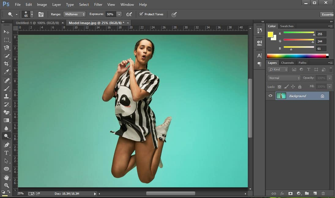 clipping mask in photoshop