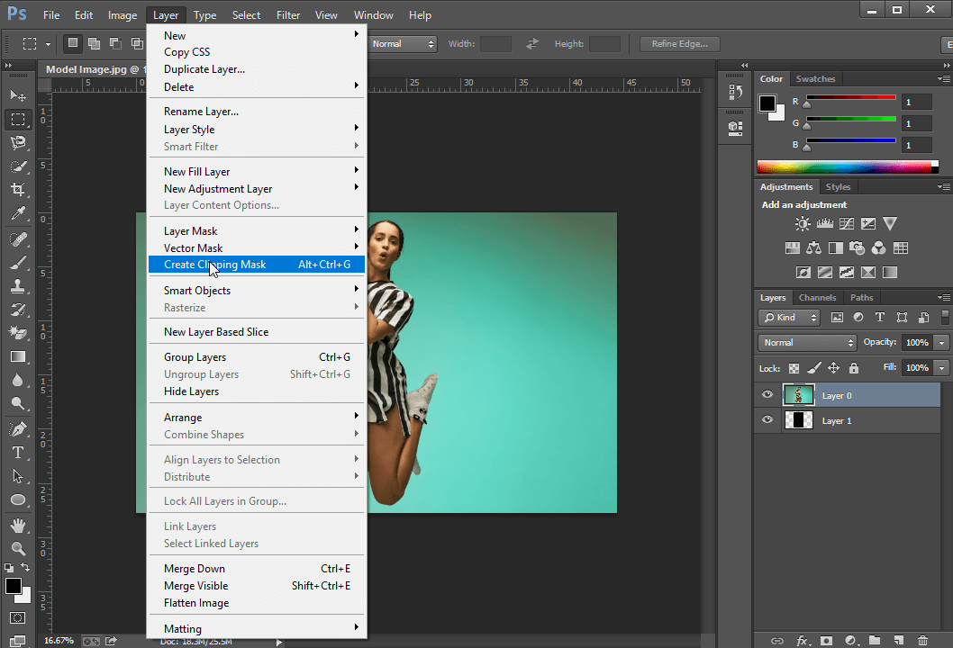 Clipping Mask