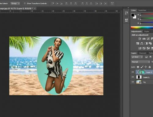 How to Create a Clipping Mask in Photoshop?