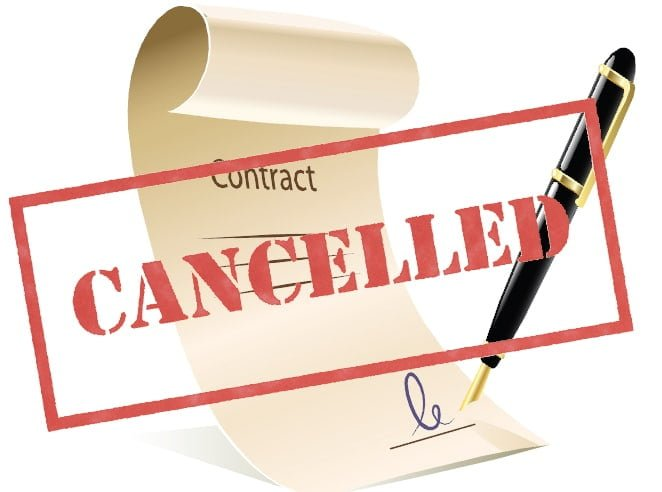 Contract Cancellation