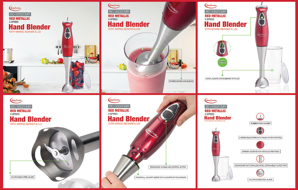 Amazon Product Infographic - Hand Blender