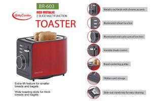 Amazon Product Infographic - toaster