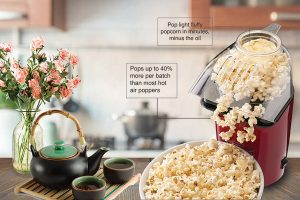 Amazon Product Infographic - popcorn maker