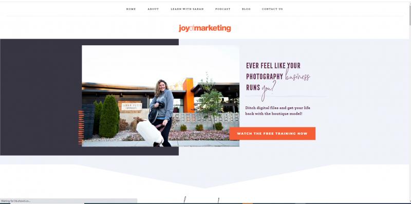 Joy of Marketing